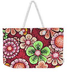Efflorescent 5 Weekender Tote Bag