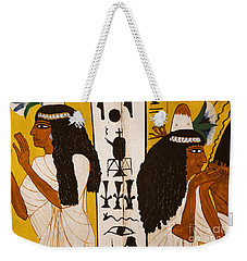 Weekender Tote Bag featuring the photograph Egyptian Glory by Sue Harper