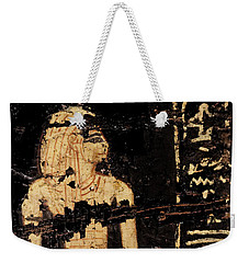 Weekender Tote Bag featuring the photograph Egyptian Immortal Art by Sue Harper