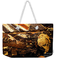 Weekender Tote Bag featuring the painting Egyptian Splash by Sue Harper