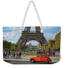 Eiffel Tower Weekender Tote Bag