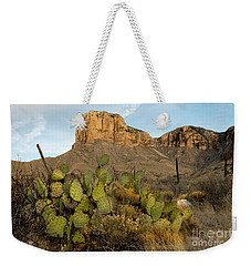 El Capitan With Cactus Weekender Tote Bag