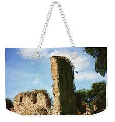 Elgin Cathedral Ruins Painting Weekender Tote Bag