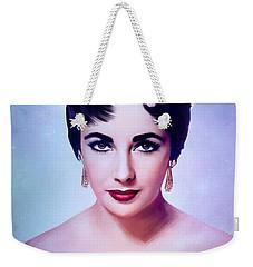 Elizabeth 3 Weekender Tote Bag
