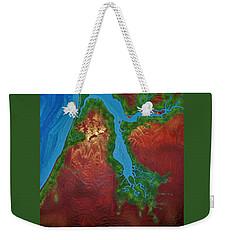 Embly And Hay Rivers Weekender Tote Bag