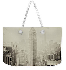 Empire Weekender Tote Bag