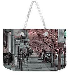 Empty Sidewalk Weekender Tote Bag