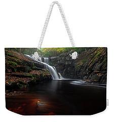 Weekender Tote Bag featuring the photograph Enders Elegance by Bill Wakeley