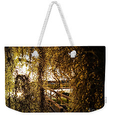 Weekender Tote Bag featuring the photograph Entry by Robert Knight
