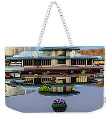 Epcot Lake Flowers Weekender Tote Bag