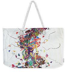 Etude In Fabric Weekender Tote Bag