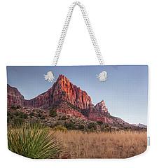 Evening Vista At Zion Weekender Tote Bag