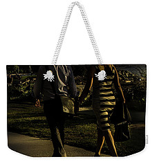 Evening Walk Weekender Tote Bag