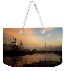 Weekender Tote Bag featuring the photograph Everyday Is A Gift - Hope Valley Art by Jordan Blackstone