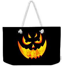 Evil Glowing Pumpkin Weekender Tote Bag