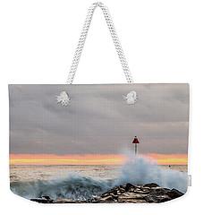 Explosive Sea 1 Weekender Tote Bag