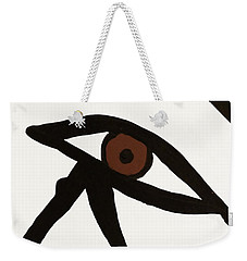 Weekender Tote Bag featuring the photograph Eye Of Egypt by Sue Harper