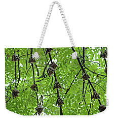 Weekender Tote Bag featuring the photograph Eyes Watching by Mark Duehmig