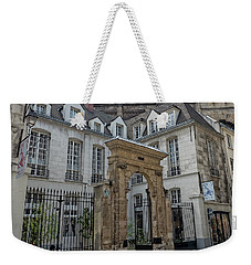 Facade On Rue Des Rosiers Weekender Tote Bag