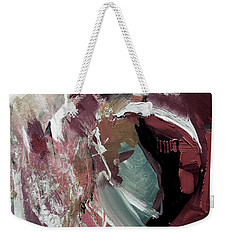 Weekender Tote Bag featuring the painting Faded by John Jr Gholson