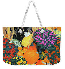 Fall Bounty Weekender Tote Bag