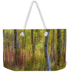 Fall Color Abstracts Weekender Tote Bag