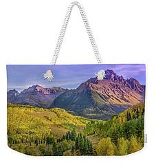 Fall Color In The San Juan Mountains Weekender Tote Bag