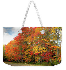 Weekender Tote Bag featuring the photograph Fall Colors by Doug Camara