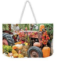 Fall Decor Weekender Tote Bag