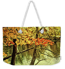 Fall Foliage Gratitude Artwork Weekender Tote Bag