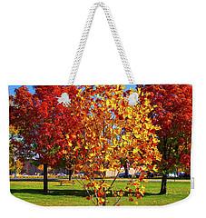 Fall In Boise Weekender Tote Bag