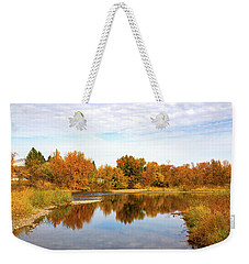 Weekender Tote Bag featuring the photograph Fall In Emmett, Idaho by Dart and Suze Humeston