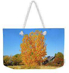 Weekender Tote Bag featuring the photograph Fall In Idaho by Dart and Suze Humeston