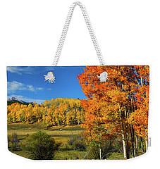 Fall In The Elks Weekender Tote Bag