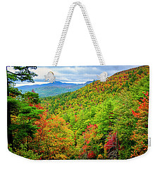 Weekender Tote Bag featuring the photograph Fall In The Smokies by Andy Crawford