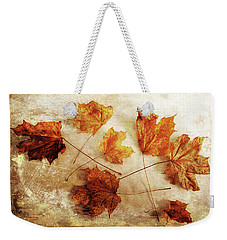 Weekender Tote Bag featuring the photograph Fall Keepers by Randi Grace Nilsberg