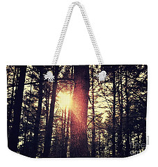 Fall Of Light Weekender Tote Bag