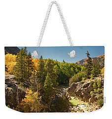 Fall On Independence Pass Weekender Tote Bag