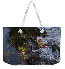 Fall Rushes By Weekender Tote Bag