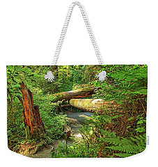 Fallen Trees In The Hoh Rain Forest Weekender Tote Bag