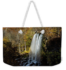 Weekender Tote Bag featuring the photograph Falling Spring Falls by Pete Federico