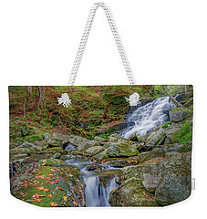 Weekender Tote Bag featuring the photograph Falls Brook 2 by Bill Wakeley
