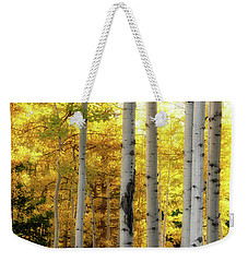 Weekender Tote Bag featuring the photograph Fall's Visitation by Rick Furmanek