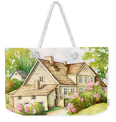 Family House Weekender Tote Bag