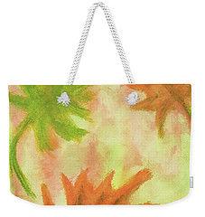 Fanciful Fall Leaves Weekender Tote Bag