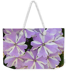 Fancy Phlox Weekender Tote Bag