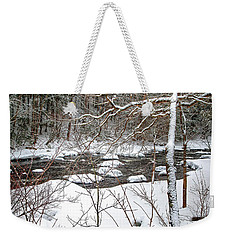 Farmington River - Northern Section Weekender Tote Bag