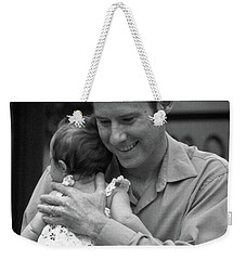 Father And Daughter Weekender Tote Bag