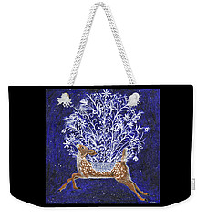 Fawn Bouquet Weekender Tote Bag