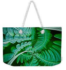 Fern Dance Weekender Tote Bag